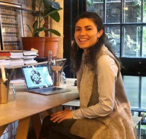 Produzentin und Vermarkterin von Kaffee Maite Amrein
